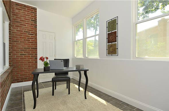 1400 Oglethorpe St, NW, Apt 7, Washington, DC 20011, sun room/office
