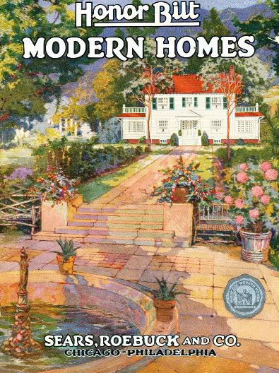 1922 Sears Modern Homes Catalog cover