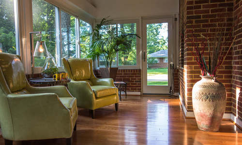 2021 Hermitage Ave, Wheaton, MD, sun room