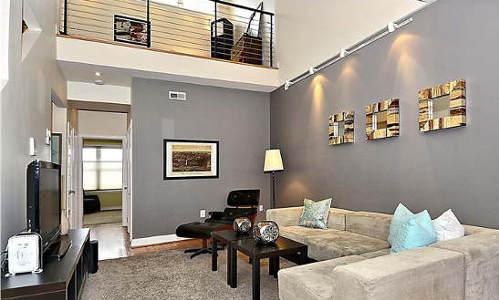 3431 14th St, NW Washington, DC 20010, living room and loft