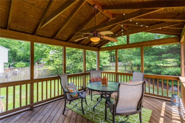 3528 Toddsbury Lane, Olney, MD 20832, screen porch