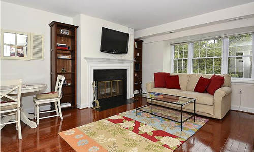 3821 Porter St, NW Washington, DC 20016 living room windows