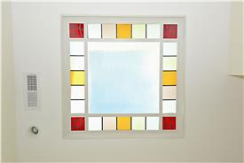 3829 Woodley Rd, NW, Washington, DC 20016, stained glass ceiling