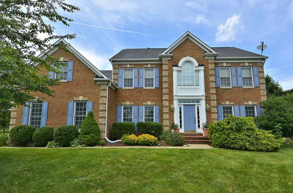 3917 Arbor Crest Way, Rockville, MD 20853, front elevation1
