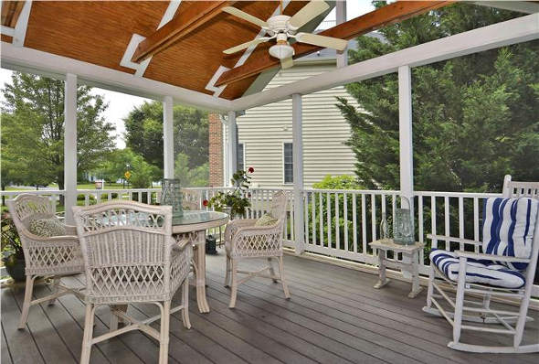 3917 Arbor Crest Way, Rockville, MD 20853, screen porch