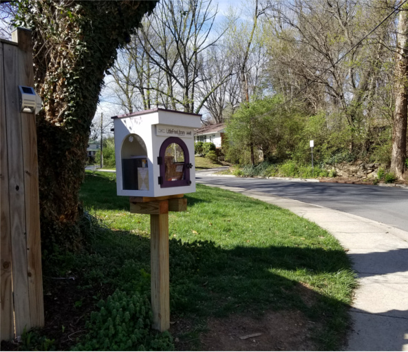 410 Boston Ave, Takoma Park, MD 20912, little free library