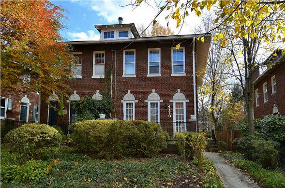 4110 Jenifer St, NW, Washington, DC 20015, front elevation 589x389