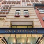 Lux at the Lafayette: Walk score 98!