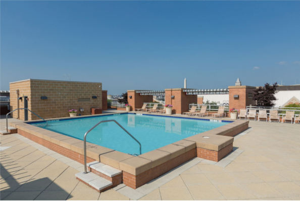 631 D Street, NW, Apt 735, Washington, DC 20004, rooftop pool