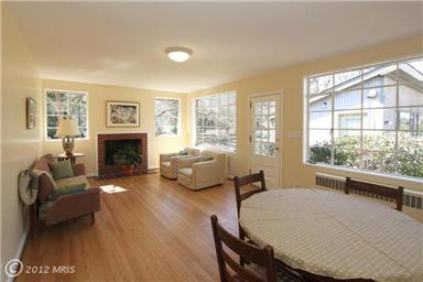 7416 Holly Ave Takoma Park: large room