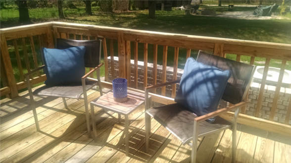 8218 Tuckerman Lane, Potomac, MD 20854, patio chairs