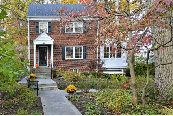 9212 Midwood Rd., Silver Spring, MD 20910, front elevation