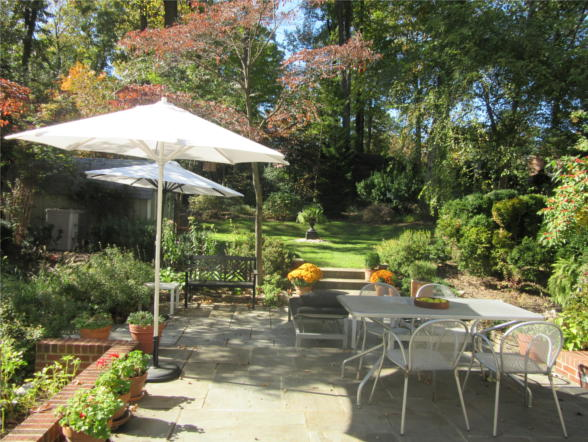 9212 Midwood Rd., Silver Spring, MD 20910, patio and garden