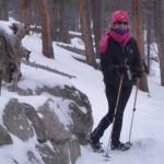 Agent Alice treks Rocky Mountain State Park, Colorado