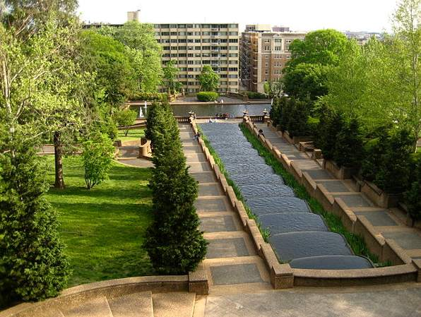 Meridian Hill Park in Columbia Heights, Washington, DC