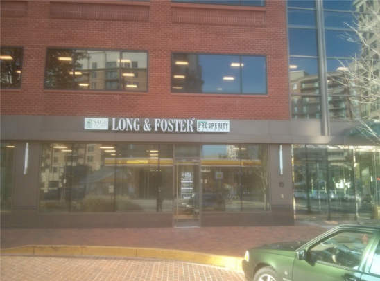 Long & Foster Bethesda office entrance