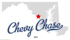Location of Chevy Chase, MD