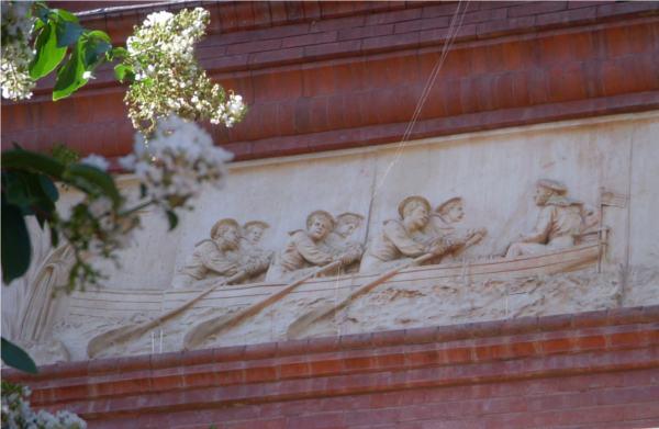 National Building Museum: relief above front door