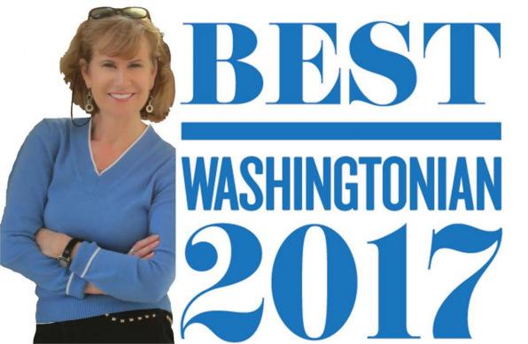 Washingtonian Best Realtors 2017 badge, Alice McKenna